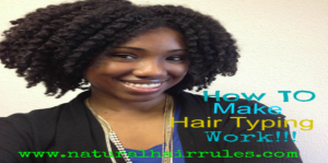 How To Make Hair Typing Work For You