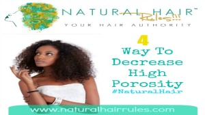 Improve Your Hair's Porosity