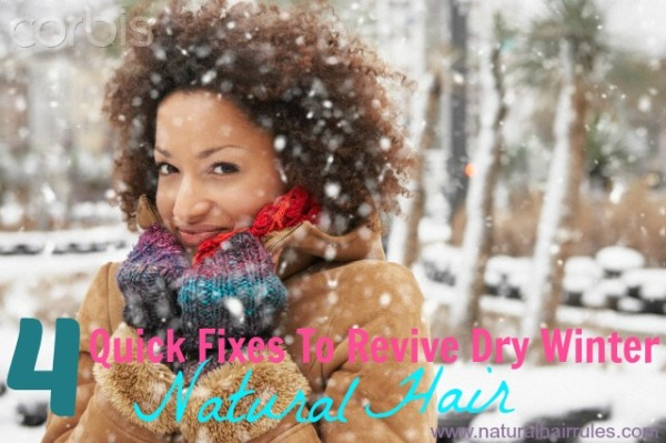 4 Quick Fixes To Revive Winter Dry Hair