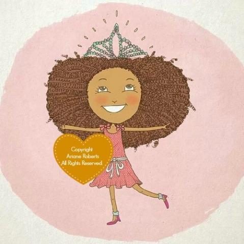 Jamie Loves Her Natural Hair Children's Book