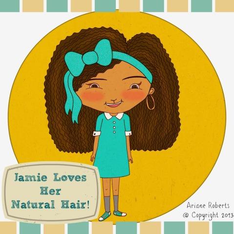 Jamie Loves Her Natural Hair