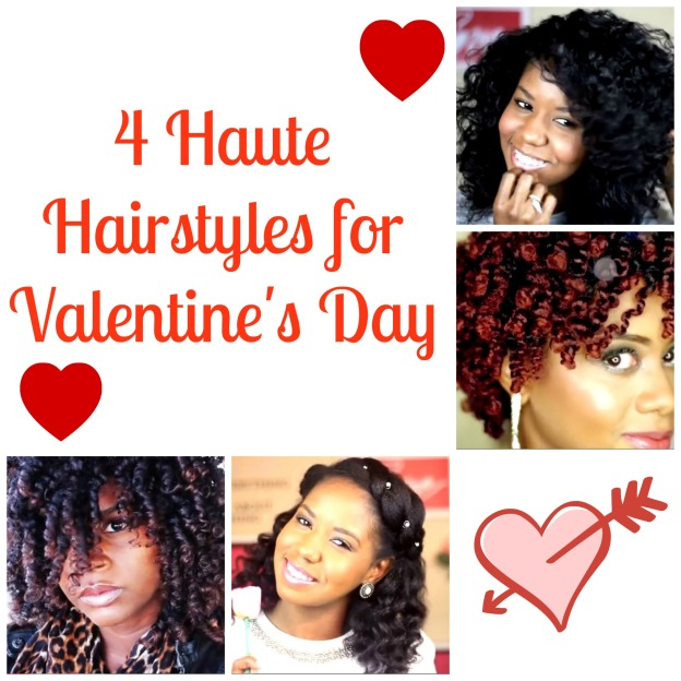 4 Haute Hairstyles for Valentine's Day