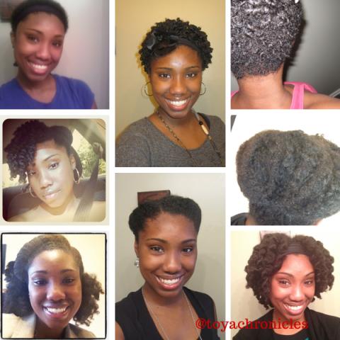 Natural Hair Selfies