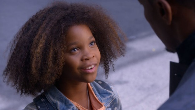 Quvenzhané Wallis is Natural Haired Annie in Remake